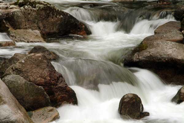 Beispiel für ein Deutsches Tenkara Gewässer
